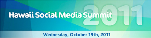 Hawaii Social Media Summit 2011 banner