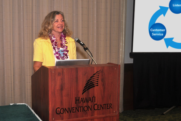 Linda Sherman Presenting at Hawaii Social Media Summit Oct 11