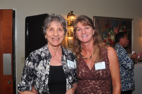 Mother and Daughter Fran and Lisa at Sustainability Forums Kauai