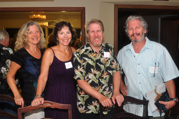 Linda Sherman, Melissa Mojo, Judah Freed, Bob Kurtz at Sustainability Forums Kauai
