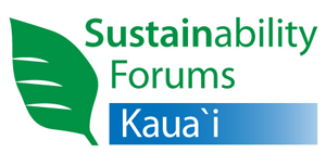 Sustainability Forums Kauai logo by Ray Gordon