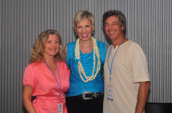 Linda Sherman and Ray Gordon with Mari Smith