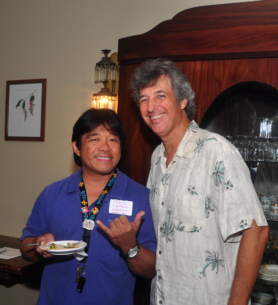 John Sydney Yamane with Ray Gordon Sustainability Forums Kauai