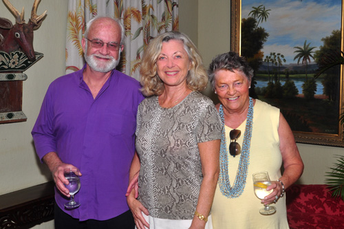 Ken Stokes, Linda Sherman and Sue Dixon