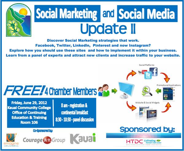 Kauai Chamber Social Marketing Event Speaker Linda Sherman